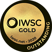 Gold Oustanding medal at International Wine and Spirits Challenge 2020