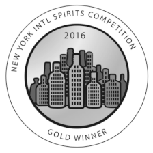 Wins Gold at New York Intl Spirits Competition