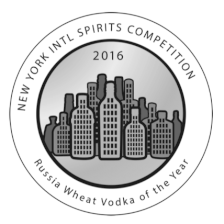 Wins Silver at Russia Wheat Vodka of the Year 2016
